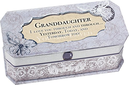 Cottage Garden 129292 Music Box - Granddaughter & You Are My Sunshine-Periwinkle-Petite by Cottage Garden