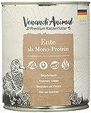 Venandi Animal - Pienso Premium para Gatos - PAQUEE DE Prueba III 1*Pollo, 1*Pato, 1*Ternera 1*Caballo, 1*Ternero, 1*Pavo - Completamente Libre de Cereales - 6 x 800 g