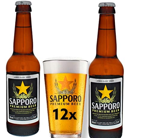 Sapporo 12 x 33 cl