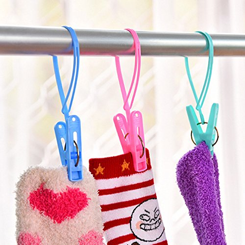 Foldable Hanger - 12pcs Colorful Clothespins Hook Laundry Clips Multipurpose Bra Socks Hanger Pegs Racks Anti Wind - Laundry Clothes Foldable Sock Board Washboard Peg Laundry Hanger Closet So