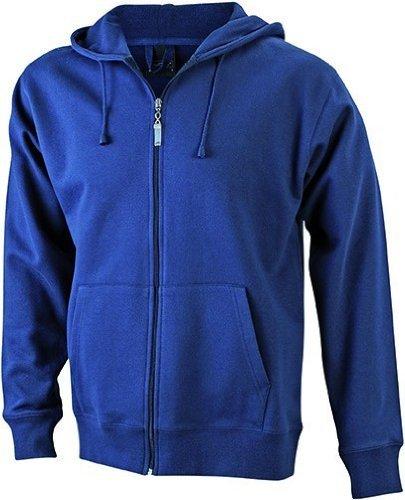 JN042-1 Men´s Hooded Jacke Sweatjacke Kapuze Sweatshirt, Farbe:navy;Herrengrößen:3XL XXXL,Navy by ./.