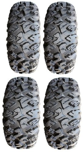 Full set of MotoSport EFX MotoClaw (6ply) 26x9-12 and 26x11-12 ATV Tires (4)