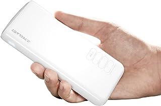 TECLAST モバイルバッテリー 10000mAh 大容量 軽量 2.1A急速充電【PSE認証済&LED残量表示ライト付き】USB-A出力ポート 2入力ポート(Micro USB & Type-C ) 携帯バッテリー スマホバッテリー 1年間...
