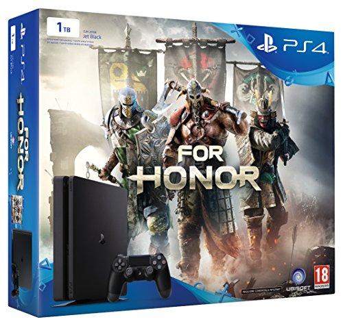 PlayStation 4 Slim  - PlayStation 4 1TB - Consola + For Honor - [Edizione: Spagna]