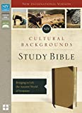 NIV, Cultural Backgrounds Study Bible, Leathersoft, Tan, Red Letter: Bringing to Life the Ancient World of Scripture