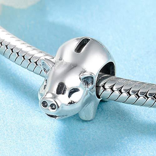 DASFF Piggy Piggy Piggy Bank parels voor sieraden maken Fit originele charm armbanden halsketting