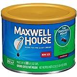 Maxwell House Decaf Original Medium Roast Ground Coffee (22 oz Canister)