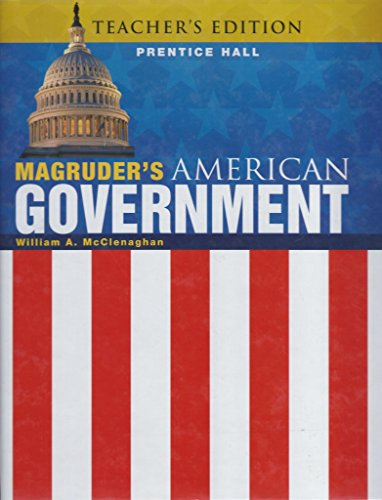 Magruder's American Government 2011 Teacher's Edition