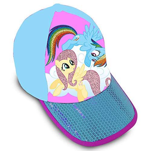 Kids Licensing Casquette Premium avec Paillettes de My Little Pony, Unisexe pour Enfants, Multicolore, Taille Unique