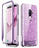 i-Blason Cosmo Full-Body Bumper Case for Galaxy S9 Plus 2018 Release, Purple