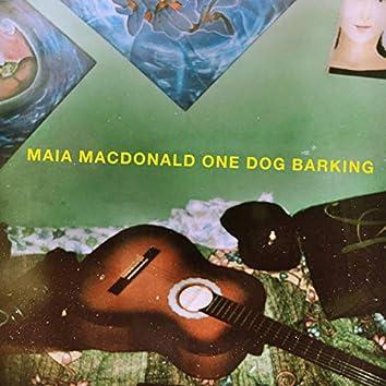 One Dog Barking