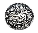 Targaryen Dragon con letra de la canción insignia broche con forma de hielo y fuego de Juego...