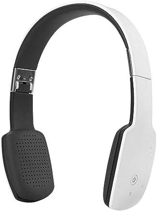 Cuffie con microfono Cuffie stereo Bluetooth 4.1 stereo senza fili Cuffie sportive con microfono HIFI pieghevole (Color : White) - Trova i prezzi più bassi