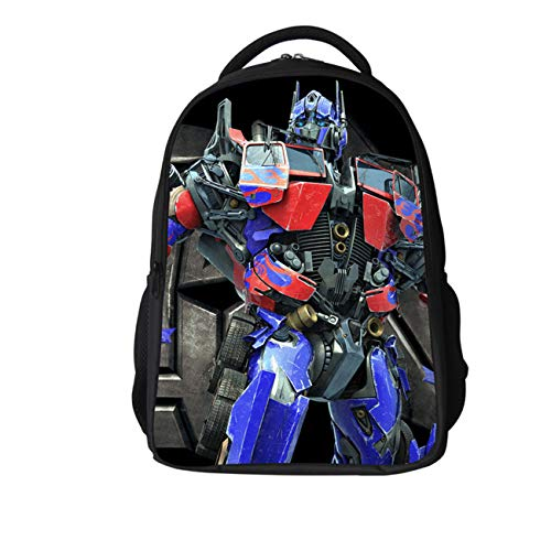 GD-fashion Transformers Bumblebee Optimus Prime Rucksack, für Jungen, leichter Rucksack für Kinder 7 Einheitsgröße