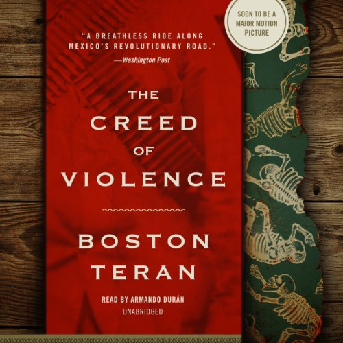 The Creed of Violence audiobook cover art
