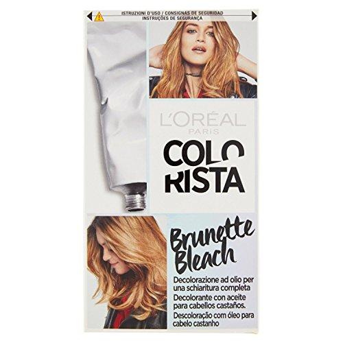 L Oréal Paris Colorista Brunette Bleach Decolorante ad Olio per una Schiaritura Completa dei Capelli Castani
