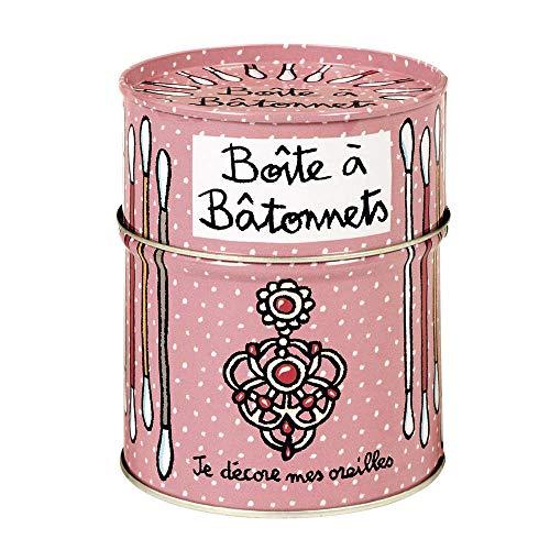 Boite à Bâtonnets Mes oreilles - rose - Derrière la porte