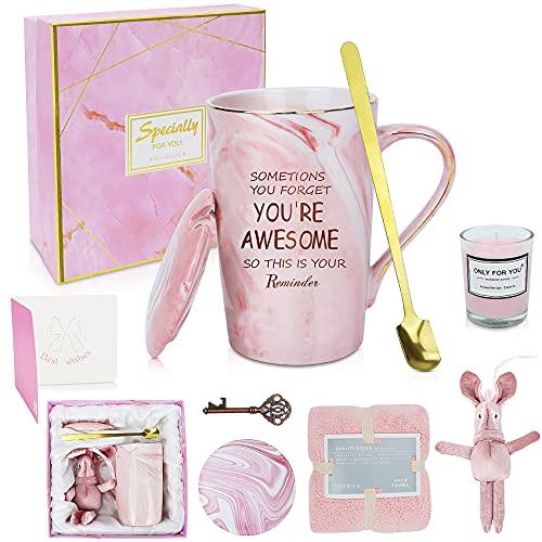 Juego de regalo para mujeres,Tazas de café con toalla suave,Regalos de...