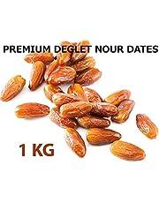 デーツ なつめやし デグラノール種(種抜、チュニジア産) 1kg【オーガニック、ハラル認証】Premium Pitted Organic Halal Dates Deglet Nour Deglet Noor  (グラノーラ スムージー 無添加ドライフルーツ)