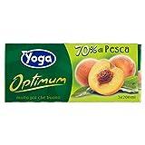 Yoga Succo Optimum Pesca - 8 confezioni da 3 pezzi da 200 ml [24 pezzi, 4800 ml]...