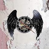 Elegante Angel Wings Shabby Chic Wall Clwood mesa lámpara de mesa lámpara de mesa lámparas de mesa lámpara de mesa