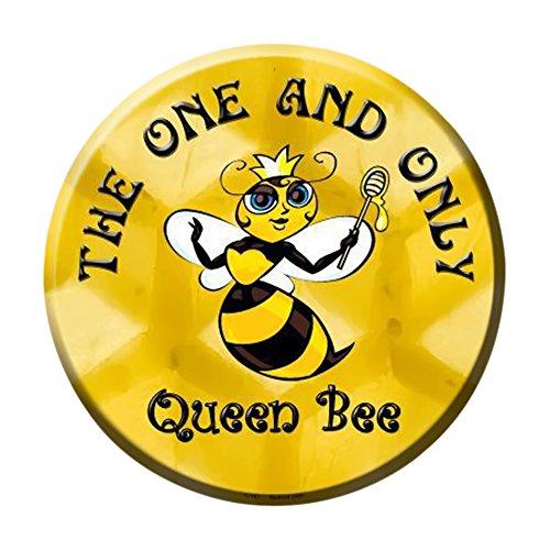 Smart Blonde The One und nur Queen Bee Metall Circular Parken Schild c-167