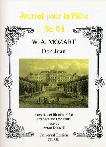 Don Juan arranged for solo flute by Diabelli