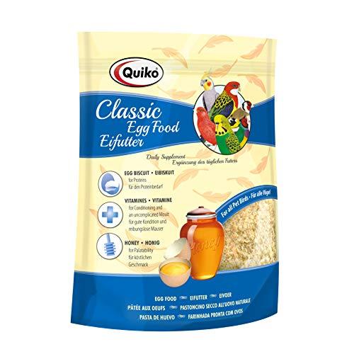 Quiko Classic Eifutter 1kg -Kraft- & Aufzuchtfutter für alle Ziervogelarten