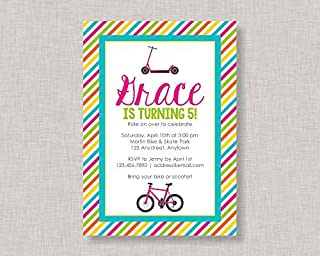 Best scooter birthday invitations Reviews