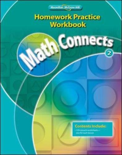 Math Connects, Grade 2, Homework Practice Workbook (ELEMENTARY MATH CONNECTS)