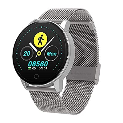 BingoFit Fitness Tracker Smart Watch, Waterproof Activity Tracker with Heart Rate Monitor for Android iOS 10 Sport Modes Sleep Monitor Calorie Monitor Pedometer Stop Watches