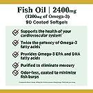 Nature's Bounty Fish Oil, 2400mg, 1200mg of Omega-3, 90 Coated Softgels #2