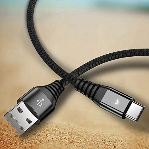 2 Pack Nylon Braided USB Type C Cable iFlash USB A 2 0 to USB C Fast Charger Cord for Samsung product image
