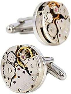 working watch cufflinks