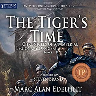 The Tiger's Time audiobook cover art