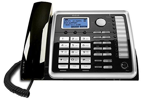 rca corded cordless phones RCA 25260 1-Handset 2-Line Landline Telephone