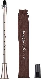 Muslady Clarinete Mini Simple Sax Saxinete Compacto Clarinete-saxofón Material de Viento Musical para Principiantes con Bolsa de Transporte