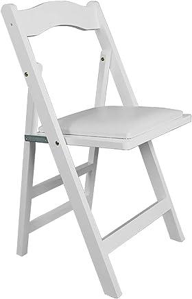 Amazon.es: silla plegables blanca - Sillas / Salón: Hogar y ...