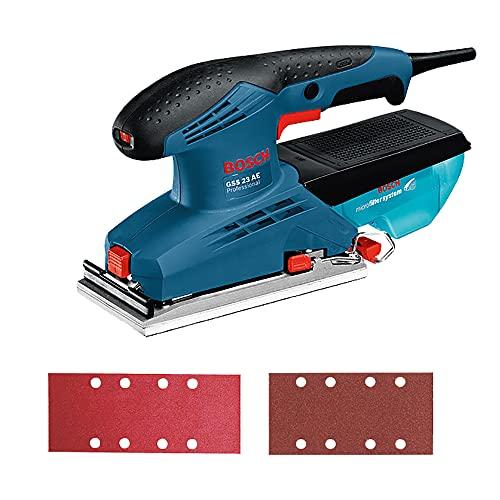 Bosch 06010707D0-000, Lixadeira Oscilante GSS 23 AE 127V, Azul