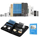 Best Charcoal Pencils - Charcoal Drawing Set 41 Pcs, Magicfly Art Kit Review