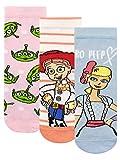 Disney Calcetines Paquete de 3 para Niñas Toy Story Multicolor 31-36