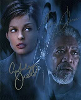 Ashley Judd / Morgan Freeman HIGH CRIMES In Person Autographed Photo
