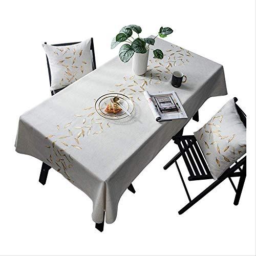 60X84 voeten verse kleine geruite stof Restaurant tafelkleed Rechthoekige salontafel tafelkleed