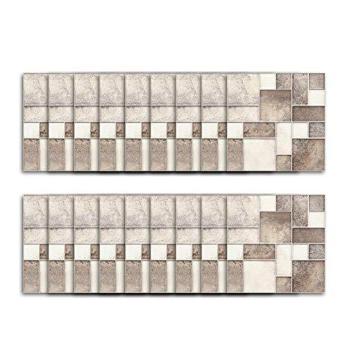 adfafw 18 unids 1010 cm cuadrado mosaico azulejo mosaico patrón etiqueta engomada de la pared, arte elegante hogar decoración interior azulejo etiqueta engomada