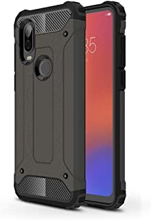 Soft Pattern Cell Phone Basic Cases Phone Case For Motorola P40 Magic Armor TPU + PC Scratch Resistant Combination Case For Men Women Girl Boy (Color : Bronze)