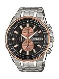 Casio Reloj Analogico para Hombre de Cuarzo con Correa en Acero Inoxidable EFR-549D-1B9VUEF