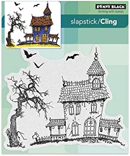 slapstick cling rubber stamps