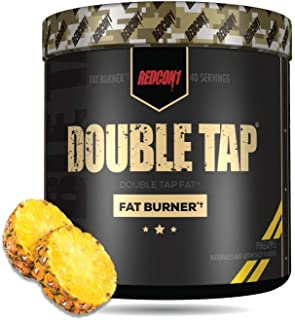 REDCON1 - Double Tap - Fat Burner - Muscle-Preserving Fat Burner, Thermogenic Weight Loss Supplement – Keto Friendly, Appe...