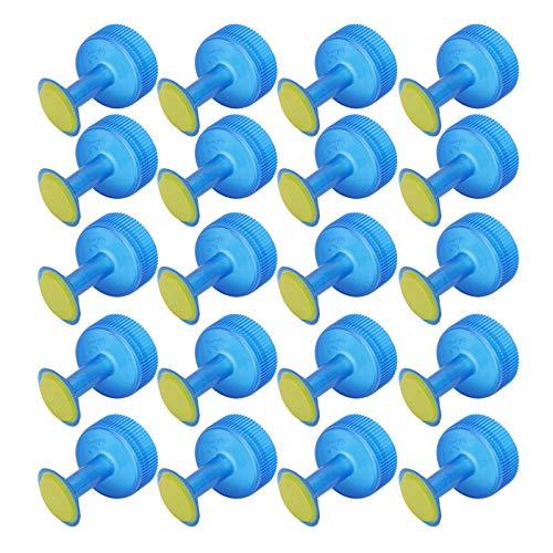 DOITOOL 20 Piezas Rociadores de Botella Regadera de plástico pequeña Bonsái Regadera para Planta Riego de Interior de Jardín (Color Aleatorio)