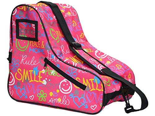 Epic Skates Limited Edition Smile Skate Bag, Pink